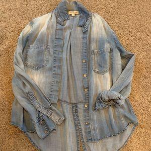 Cloth + Stone denim shirt